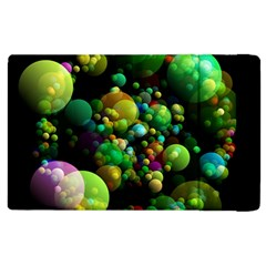 Abstract Balls Color About Apple iPad 3/4 Flip Case