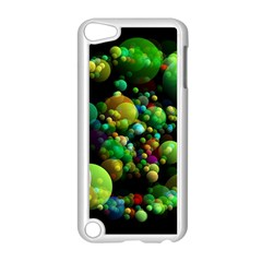 Abstract Balls Color About Apple iPod Touch 5 Case (White)