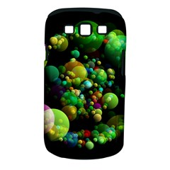 Abstract Balls Color About Samsung Galaxy S III Classic Hardshell Case (PC+Silicone)