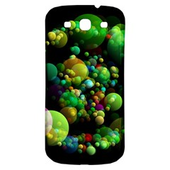 Abstract Balls Color About Samsung Galaxy S3 S III Classic Hardshell Back Case