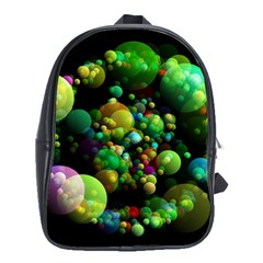 Abstract Balls Color About School Bags (XL)