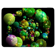 Abstract Balls Color About Samsung Galaxy Tab 7  P1000 Flip Case