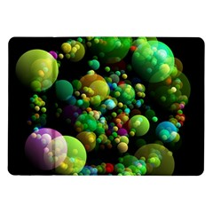 Abstract Balls Color About Samsung Galaxy Tab 10.1  P7500 Flip Case