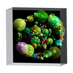 Abstract Balls Color About 5  x 5  Acrylic Photo Blocks