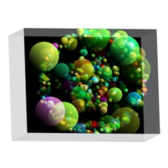 Abstract Balls Color About 5 x 7  Acrylic Photo Blocks