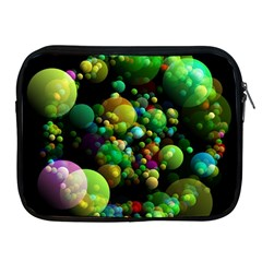 Abstract Balls Color About Apple iPad 2/3/4 Zipper Cases