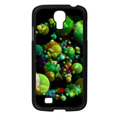 Abstract Balls Color About Samsung Galaxy S4 I9500/ I9505 Case (Black)