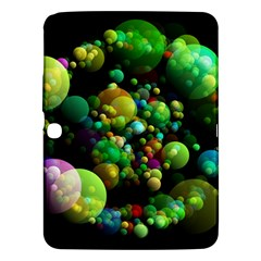 Abstract Balls Color About Samsung Galaxy Tab 3 (10.1 ) P5200 Hardshell Case