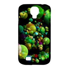 Abstract Balls Color About Samsung Galaxy S4 Classic Hardshell Case (PC+Silicone)