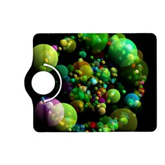 Abstract Balls Color About Kindle Fire HD (2013) Flip 360 Case
