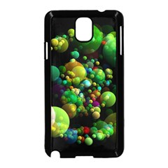 Abstract Balls Color About Samsung Galaxy Note 3 Neo Hardshell Case (Black)