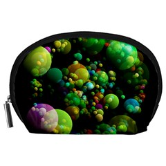 Abstract Balls Color About Accessory Pouches (Large)