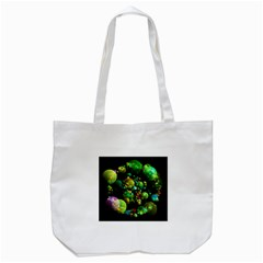 Abstract Balls Color About Tote Bag (White)
