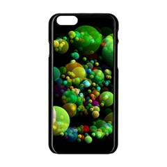 Abstract Balls Color About Apple iPhone 6/6S Black Enamel Case