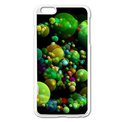 Abstract Balls Color About Apple iPhone 6 Plus/6S Plus Enamel White Case