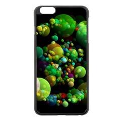 Abstract Balls Color About Apple iPhone 6 Plus/6S Plus Black Enamel Case