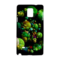 Abstract Balls Color About Samsung Galaxy Note 4 Hardshell Case