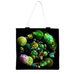 Abstract Balls Color About Grocery Light Tote Bag