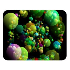 Abstract Balls Color About Double Sided Flano Blanket (Large)