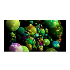 Abstract Balls Color About Satin Wrap