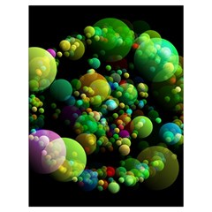 Abstract Balls Color About Drawstring Bag (Large)