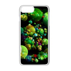 Abstract Balls Color About Apple iPhone 7 Plus White Seamless Case