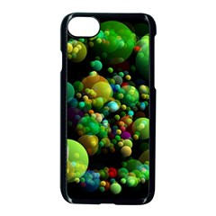 Abstract Balls Color About Apple iPhone 7 Seamless Case (Black)
