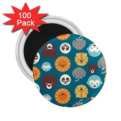 Animal Pattern 2.25  Magnets (100 pack)