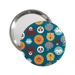 Animal Pattern 2.25  Handbag Mirrors