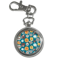 Animal Pattern Key Chain Watches