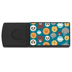 Animal Pattern USB Flash Drive Rectangular (2 GB)