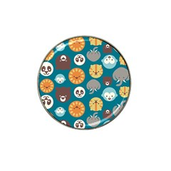Animal Pattern Hat Clip Ball Marker (10 pack)