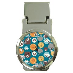 Animal Pattern Money Clip Watches