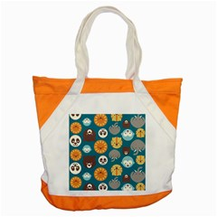 Animal Pattern Accent Tote Bag
