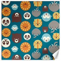 Animal Pattern Canvas 20  x 20
