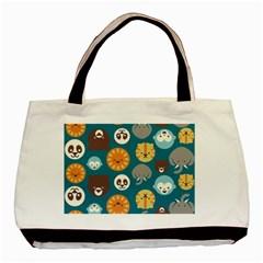 Animal Pattern Basic Tote Bag (Two Sides)