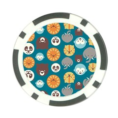 Animal Pattern Poker Chip Card Guards