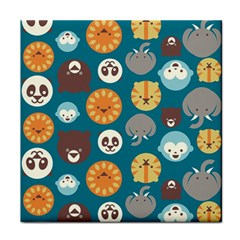 Animal Pattern Face Towel