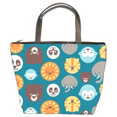 Animal Pattern Bucket Bags