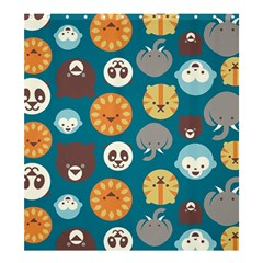 Animal Pattern Shower Curtain 66  x 72  (Large)