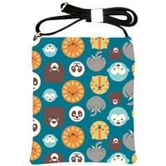 Animal Pattern Shoulder Sling Bags
