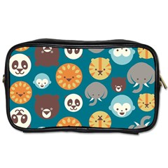 Animal Pattern Toiletries Bags 2-Side