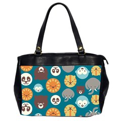 Animal Pattern Office Handbags (2 Sides)