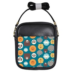 Animal Pattern Girls Sling Bags