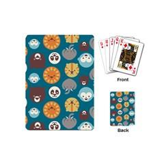 Animal Pattern Playing Cards (Mini)