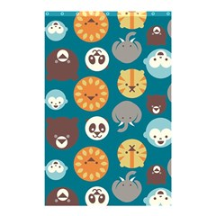 Animal Pattern Shower Curtain 48  x 72  (Small)