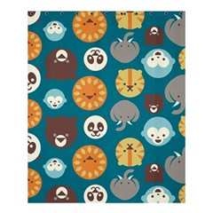 Animal Pattern Shower Curtain 60  x 72  (Medium)