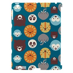 Animal Pattern Apple iPad 3/4 Hardshell Case (Compatible with Smart Cover)