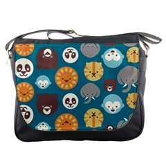 Animal Pattern Messenger Bags