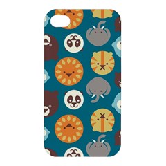 Animal Pattern Apple iPhone 4/4S Premium Hardshell Case
